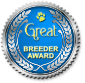 award for VLANTI DELIMAR kennel